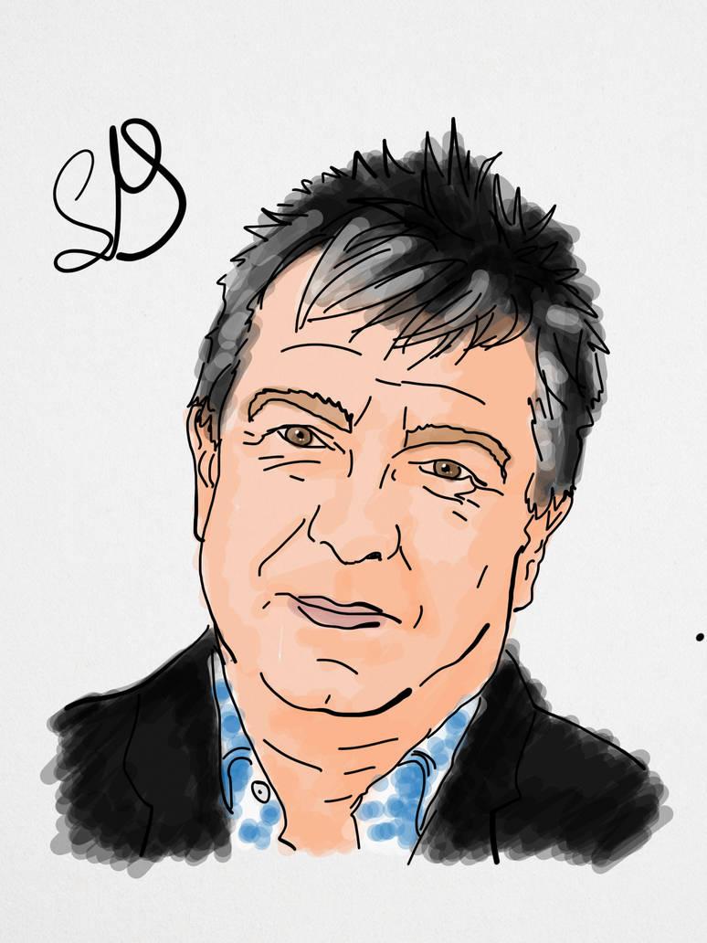 Stuart Maconie by StevePaulMyers