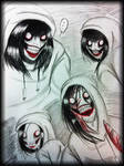 Jeff The Killer doodles -4-