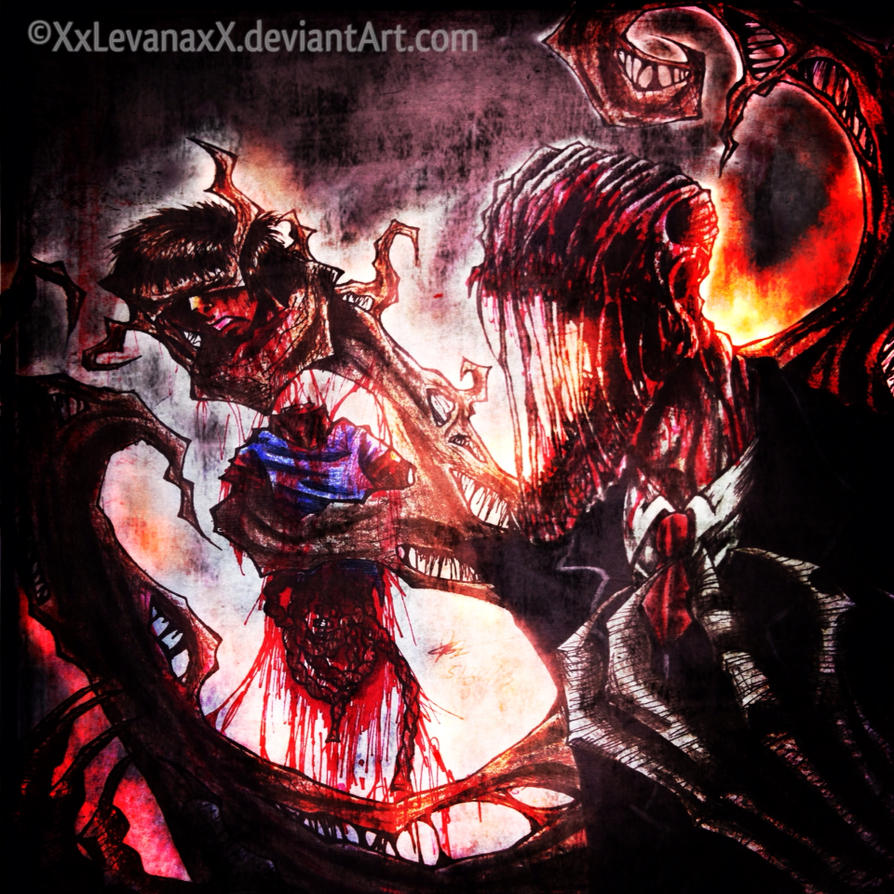 SlenderFather's Rage by XxLevanaxX