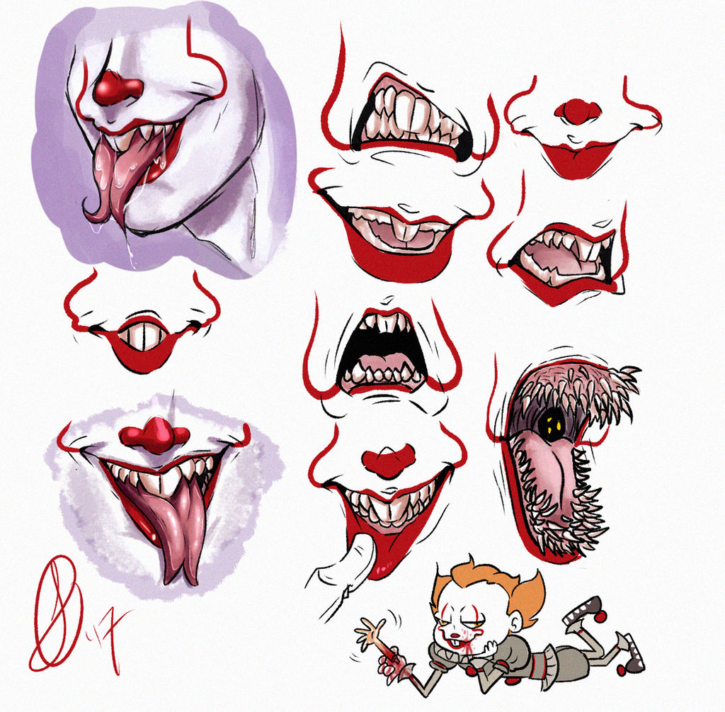 The Best Pictures Of Pennywise Teeth Images