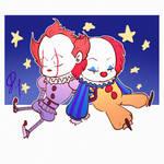 Sleepy clowns