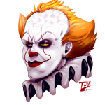 Pennywises smug face