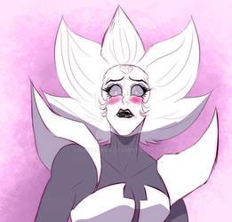 She blush!