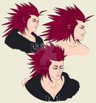 Axel doodles