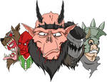 GWAR Cartoon 2010