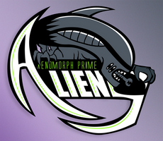 ALIENS Sports Team Logo by TheSoulless