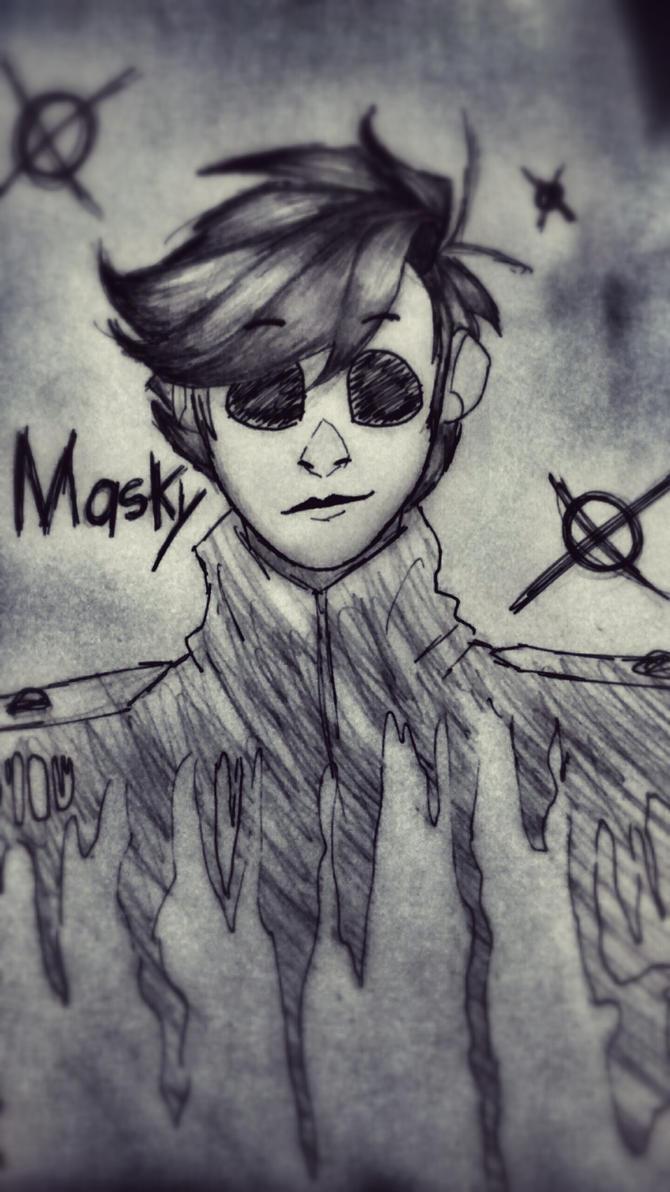 .:Masky:. by Jennythejackrabbit