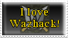 I Love Wazhack Stamp by Miss-StampLover