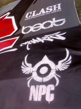 logo stencil NPC