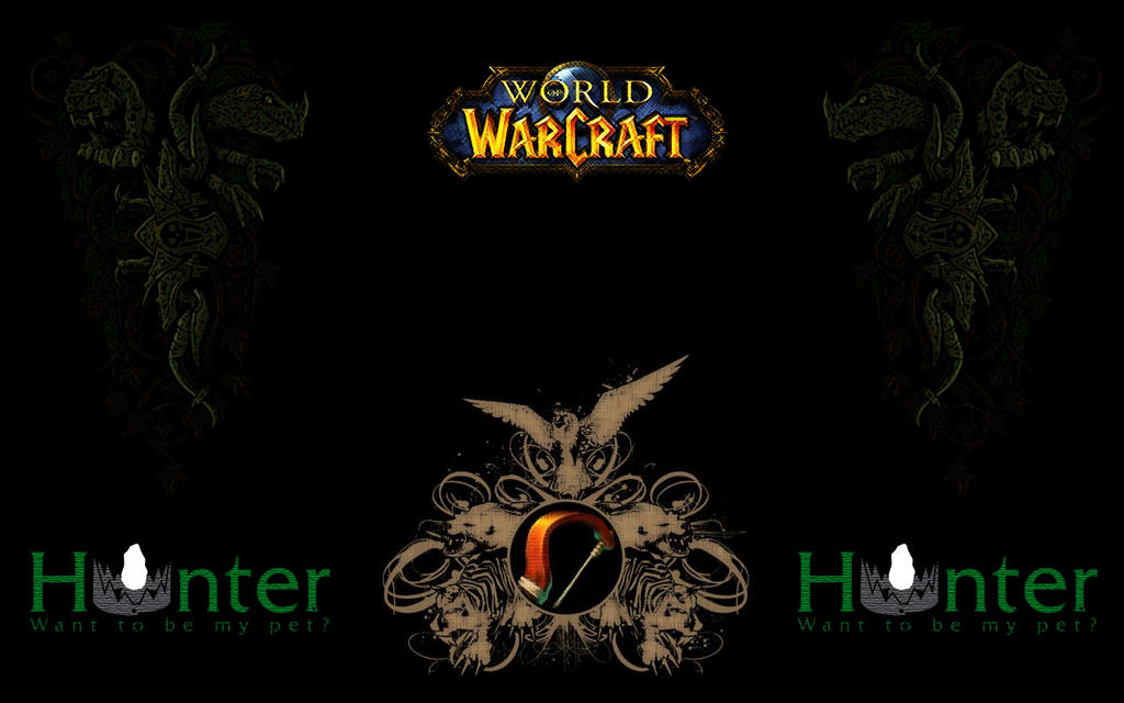 world of warcraft wallpaper hunter. WoW Hunter Wallpaper by