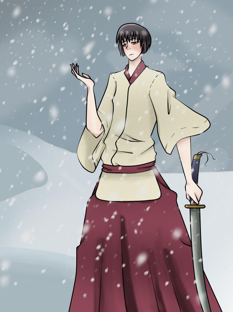 .:: Gift ::. Snowfall by Pochayuuris