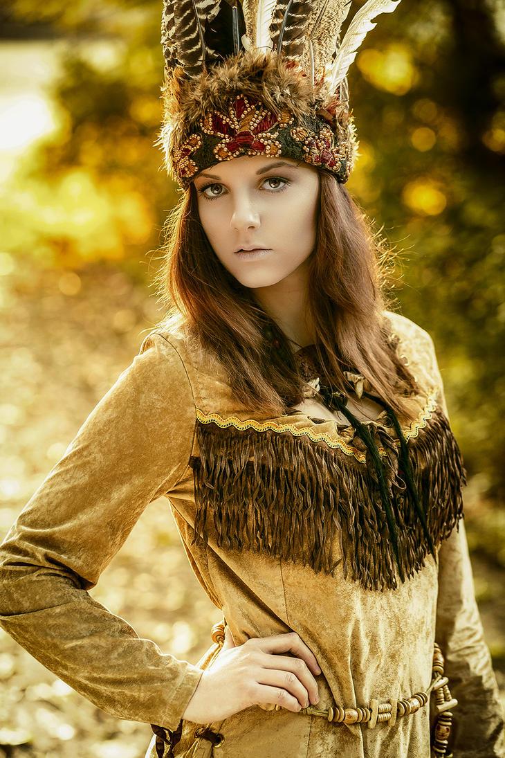 Indianer by LaszloNemeth
