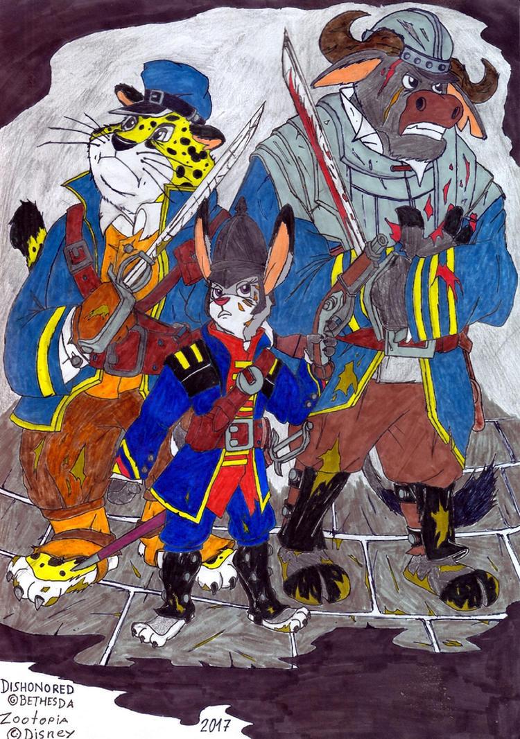 Dunwall's Finest by Pandaren-Chaplain