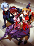 dz NeonGenesisEvangelion FTrio Ver03 by Obscure-catharsis