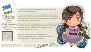 APH: Uzbekistan Profile Sheet by fir3h34rt