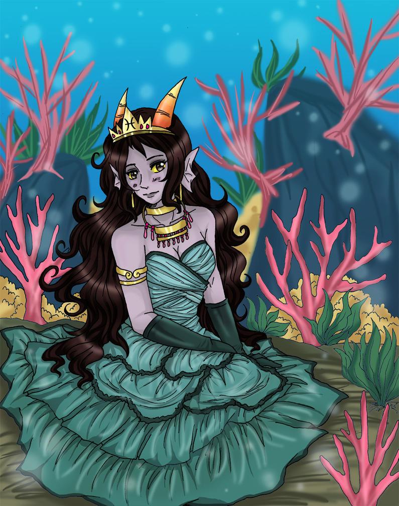 HS: Princess of Pisces by fir3h34rt