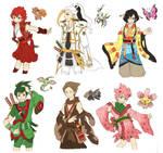 PKMN Gijinka Doodles Pt. 5