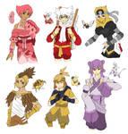 PKMN Gijinka Doodles Pt. 6