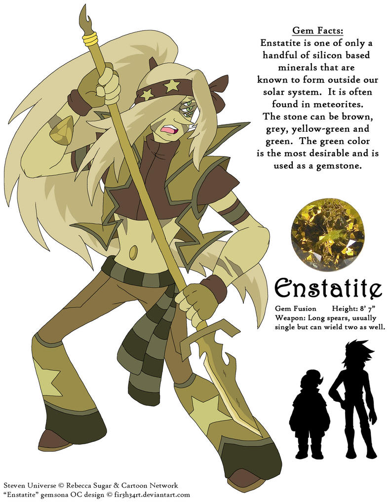 Steven Universe Oc Enstatite By Fir3h34rt On Deviantart