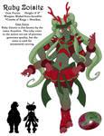 Steven Universe OC: Ruby Zoisite