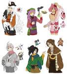 PKMN Gijinka Doodles Pt. 10