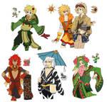 PKMN Gijinka Doodles Pt. 11