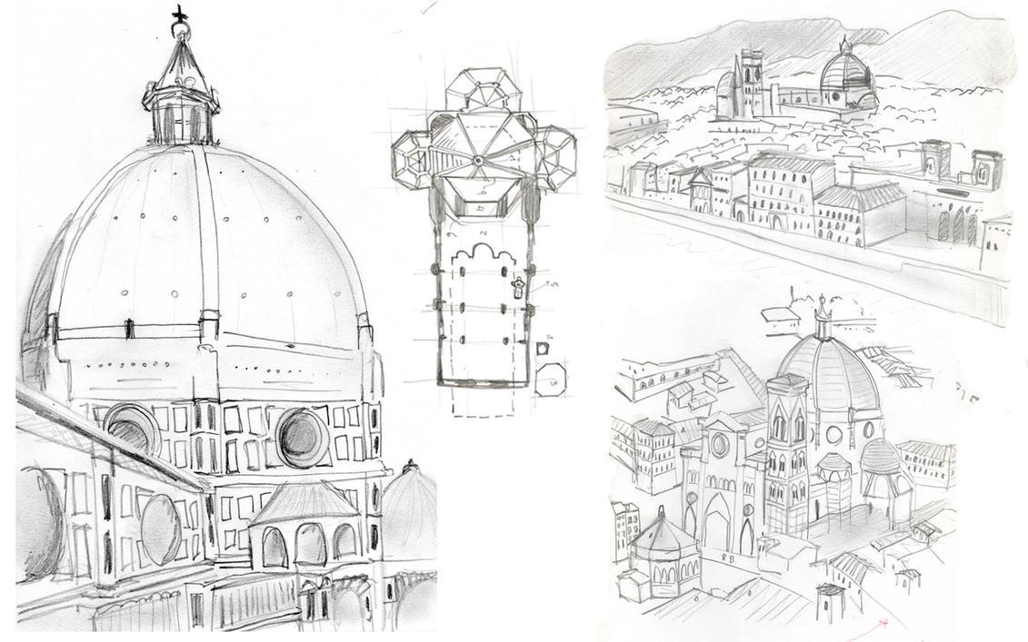 architecture history 5 - santa maria di fiorironat1 on deviantart