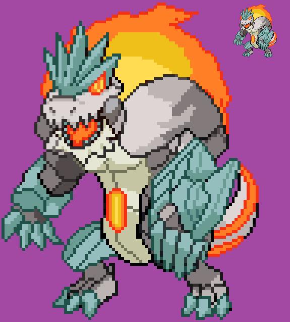 Igneousaur by RexForte