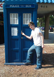 Me and the Tardis by King1cheetah