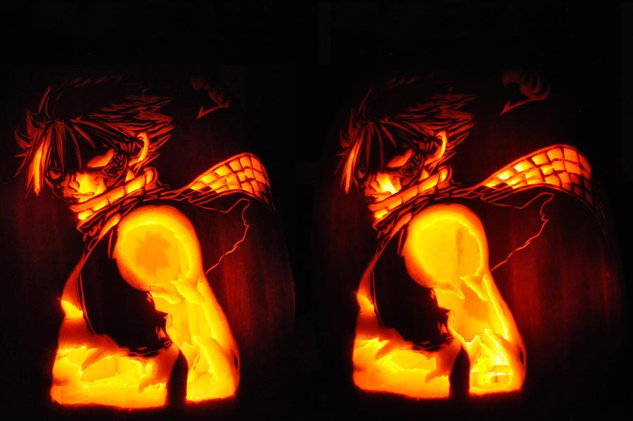 NATSU Pumpkin Carving by SarahKahlan