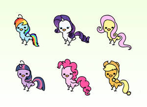 My Little Pony Chickens