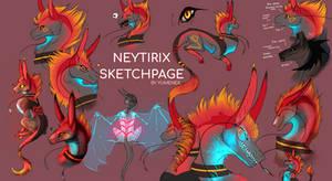 Neytirix Sketchpage by Yumenex