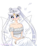 Commission: Neo Queen Serenity