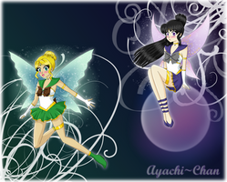 Commission: Elemental Fairies by Ayachi-chan