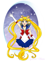 Sailor Moon: The Sailor Of Love and Justice by Ayachi-chan