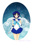 Sailor Moon: The Sailor of Water and Intelligence