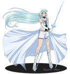 Commission: White is for Perfection by Ayachi-chan