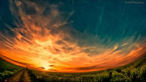 Orbit Sunset by HarDMuD