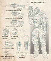 Evo Suit by dannyPs-customs