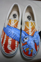 Owl Vans by dannyPs-customs
