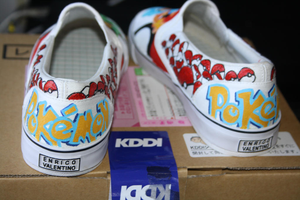 Pokemon Vans Shoes Size