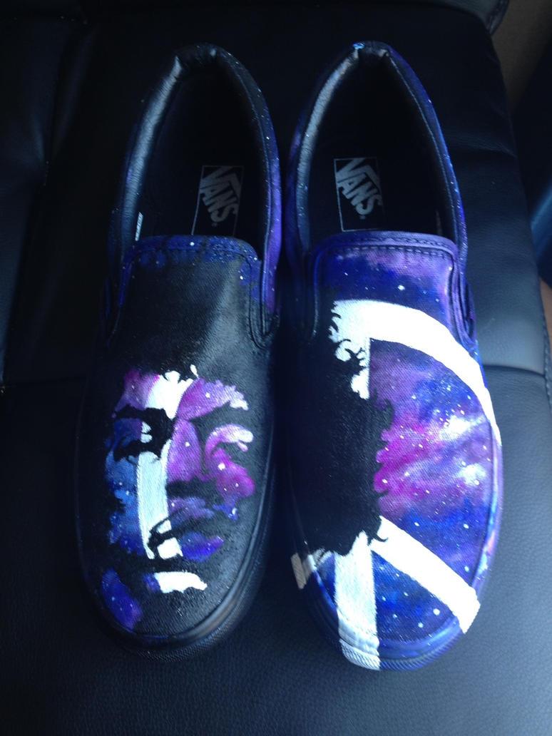 Jimi Hendrix Vans Shoes