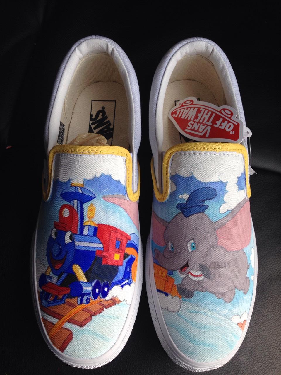 Custom Disney Shoes Uk