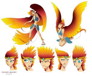Avis the Goddess of Life by Aviseya