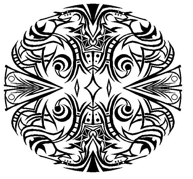Tribal Doodle by Master3Foamy
