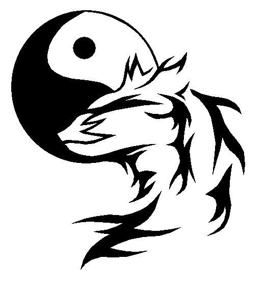 Yin Yang Wolf by Master3Foamy