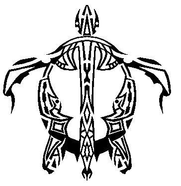 Hawaiian Petroglyph Sea turtle by Master3Foamy
