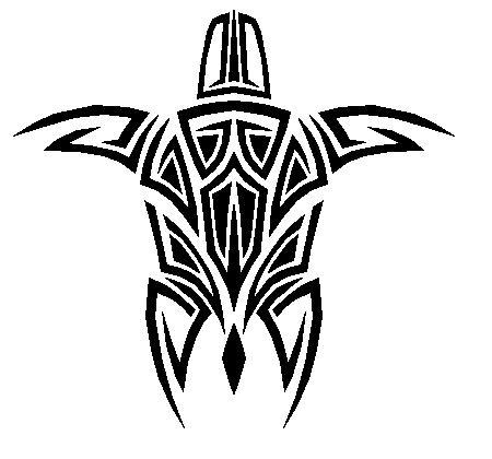Tribal Sea Turtle by Master3Foamy