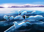 Race On The Frozen Sea
