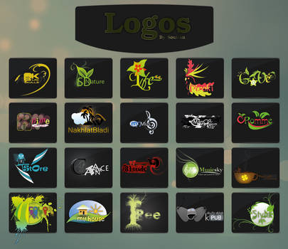 My Logos by Skulls-Black